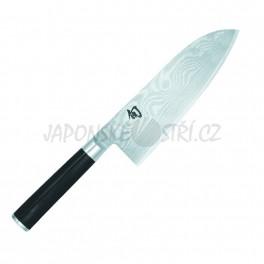 DM-0717 - Shun Santoku nůž velký, ostří 19cm