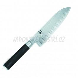 DM-0718 - Shun Santoku protlačovaný nůž, ostří 18cm