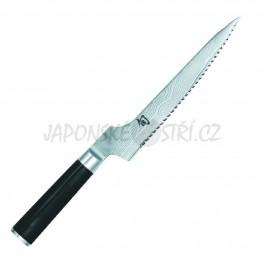 DM-0724 - Shun nůž na chléb vyosený, ostří 21cm