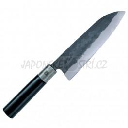 B-03 - Haiku Kurouchi Santoku nůž, ostří 16,5cm