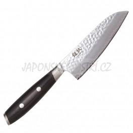 6712 - YAXELL Tsuchimon 3 Santoku nůž malý, ostří 12,5cm