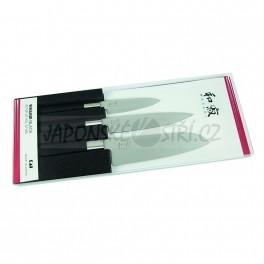 67S-310 - Wasabi Black sada 3 nožů