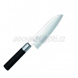 6716S - Wasabi Black Santoku nůž, ostří 16,5cm