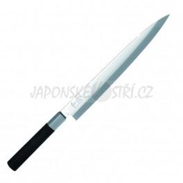 6724Y - Wasabi Black Yanagiba, ostří 24cm