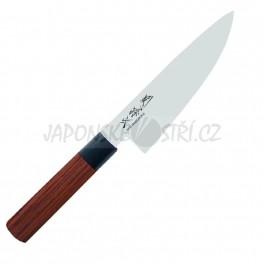 MGR-0150C - Seki Magoroku RED WOOD nůž šéfkuchaře, ostří 15cm