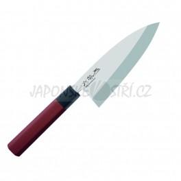 MGR-0155D - Seki Magoroku RED WOOD Deba, ostří 15,5cm