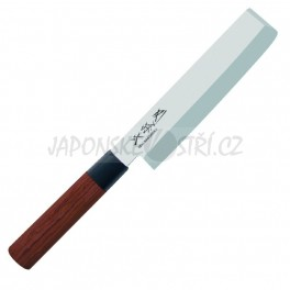 MGR-0165N - Seki Magoroku RED WOOD Nakiri, ostří 16,5cm