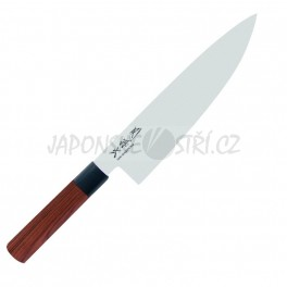 MGR-0200C - Seki Magoroku RED WOOD nůž šéfkuchaře, ostří 20cm