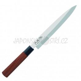 MGR-0210Y - Seki Magoroku RED WOOD Yanagiba, ostří 21cm