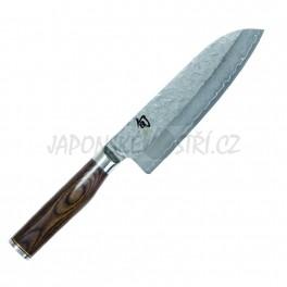 TDM-1702 - Shun Premier TM Santoku nůž, ostří 18cm